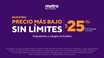 Metro by T-Mobile TV Spot, 'Conquista tu día: cuatro teléfonos gratis y MLB.tv' [Spanish] - Thumbnail 5