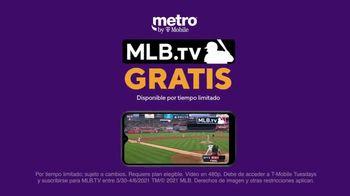 Metro by T-Mobile TV Spot, 'Conquista tu día: cuatro teléfonos gratis y MLB.tv' [Spanish] - Thumbnail 6