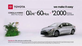 2021 Toyota Corolla Hybrid TV Spot, 'Exploring: Corolla Hybrid' [T2] - Thumbnail 4