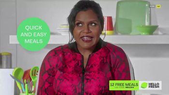 HelloFresh TV Spot, 'Mindy Sets a New Record' Featuring Mindy Kaling - Thumbnail 6