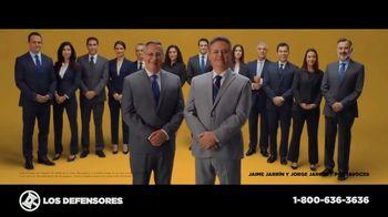 Los Defensores TV Spot, 'Podemos ayudarte' con Jorge Jarrín, Jaime Jarrín [Spanish] - 1 commercial airings