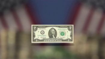 National Collector's Mint Mt. Rushmore $2 Bill TV Spot, 'Commemorative' - Thumbnail 4
