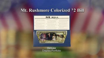 National Collector's Mint Mt. Rushmore $2 Bill TV Spot, 'Commemorative' - Thumbnail 6