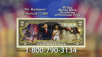 National Collector's Mint Mt. Rushmore $2 Bill TV Spot, 'Commemorative' - Thumbnail 7