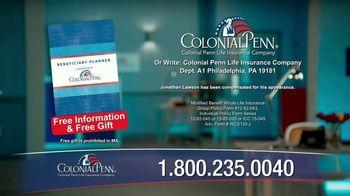 Colonial Penn TV Spot, 'Call Sooner' - Thumbnail 8
