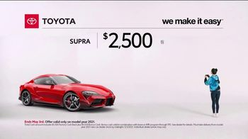2021 Toyota GR Supra TV Spot, 'Video Game' [T2] - Thumbnail 6