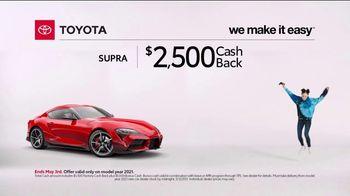 2021 Toyota GR Supra TV Spot, 'Video Game' [T2] - Thumbnail 8