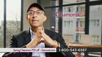 Chamonix Skin Care Spring Clearance TV Spot, 'This Year's Technology: Genucel'