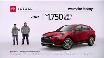 2021 Toyota Venza TV Spot, 'This for That' [T2] - Thumbnail 5