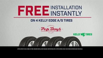 PepBoys TV Spot, 'New Look, Same Promise: Free Install on Kelly Edge Tires'