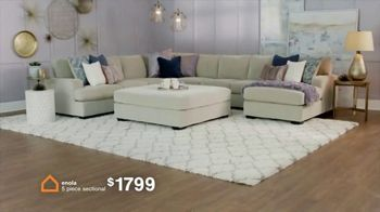 Ashley HomeStore The Big Deal Event TV Spot, 'Bed, Sectional and Special Financing' - Thumbnail 4