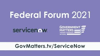ServiceNow TV Spot, 'Federal Forum 2021' - Thumbnail 9