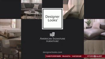 American Signature Furniture TV Spot, 'Designer Looks: $599 Hazel Bed' - Thumbnail 9