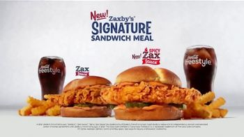 Zaxby's Signature Sandwich Meal TV Spot, 'The Sauce' - Thumbnail 7