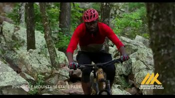 Arkansas State Parks TV Spot, 'Pinnacle Mountain State Park Monument Trails' Song by Anton Vlasov