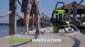 GreenWorks 60V UltraPower System TV Spot, 'One Battery for All'
