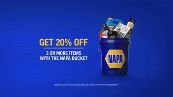 NAPA Love Your Car Month TV Spot, '20% Off: NAPA Bucket' - Thumbnail 4