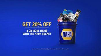NAPA Love Your Car Month TV Spot, '20% Off: NAPA Bucket' - Thumbnail 5