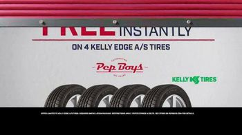 PepBoys TV Spot, 'Places to Go: Kelly Edge Tires' - Thumbnail 10