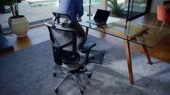 X-Chair X-HMT TV Spot, 'History of Sitting: Free Footrest'
