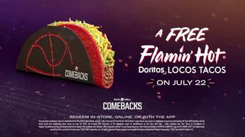Taco Bell Comebacks TV Spot, '2021 NBA Finals: Game 6' Song by Jay Rock - 336 commercial airings