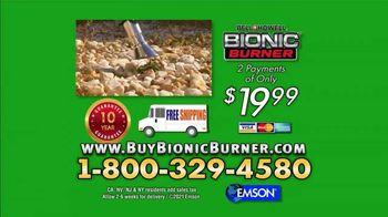 Bionic Burner TV Spot, 'Unsightly Weeds: Wheels Upgrade' - Thumbnail 8