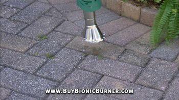 Bionic Burner TV Spot, 'Unsightly Weeds: Wheels Upgrade' - Thumbnail 2