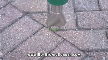 Bionic Burner TV Spot, 'Unsightly Weeds: Wheels Upgrade' - Thumbnail 4