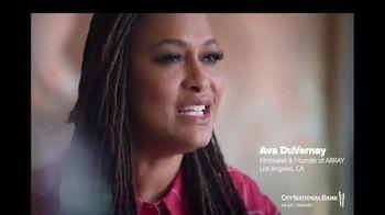 City National Bank TV Spot, 'ARRAY' Featuring Ava DuVernay
