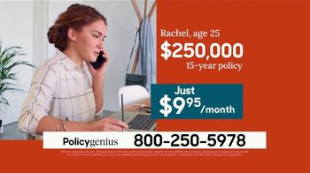 PolicyGenius TV Spot, 'Life Insurance Policies Starting At $10 a Month' - Thumbnail 2