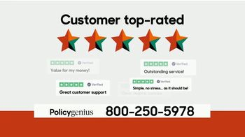 PolicyGenius TV Spot, 'Life Insurance Policies Starting At $10 a Month' - Thumbnail 6