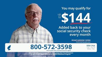 GoHealth TV Spot, '$144 Added Back Every Month'