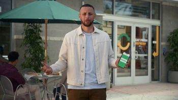 Subway App TV Spot, 'Don't Have Time' Featuring Stephen Curry - Thumbnail 8