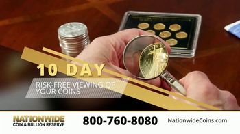 Nationwide Coin & Bullion Reserve TV Spot, 'Start Collecting: 10-Day Risk Free Viewing'