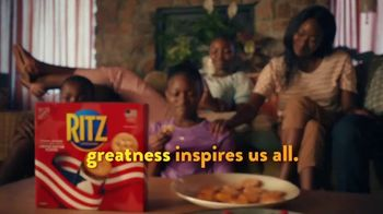 Ritz Crackers TV Spot, 'Greatness Inspires' Featuring Melissa Stockwell - Thumbnail 9