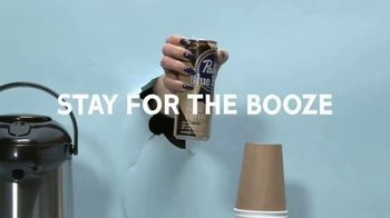 Pabst Blue Ribbon Hard Coffee TV Spot, 'Come for the Coffee, Stay for the Booze' - Thumbnail 4