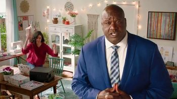 Epson EcoTank TV Spot, 'Cartridge Conniptions: Craft Room' Featuring Shaquille O'Neal