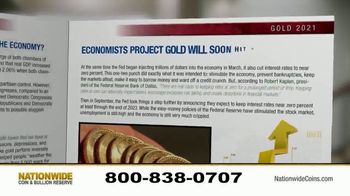 Nationwide Coin & Bullion Reserve TV Spot, 'Pricing That's Transparent: 2021 Gold Outlook Report' - Thumbnail 4