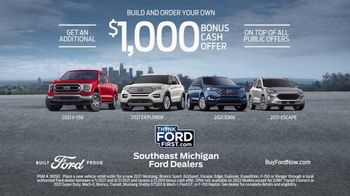 Ford TV Spot, 'Built for You by You: F-150 & Explorer' [T2] - Thumbnail 7