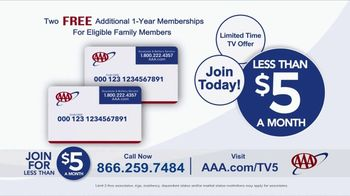 AAA TV Spot, 'Peace of Mind: Two Free Additional 1-Year Memberships' - Thumbnail 10