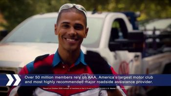 AAA TV Spot, 'Peace of Mind: Two Free Additional 1-Year Memberships' - Thumbnail 2