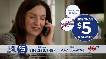 AAA TV Spot, 'Peace of Mind: Two Free Additional 1-Year Memberships' - Thumbnail 9