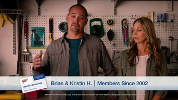 AAA TV Spot, 'Peace of Mind: Two Free Additional 1-Year Memberships'