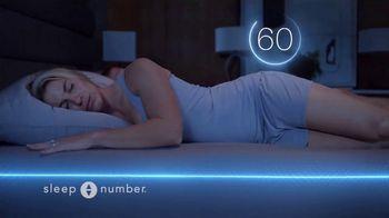 Sleep Number TV Spot, 'Sleep Smarter and Play Better: $1,099' Featuring Zach and Julie Ertz - Thumbnail 8