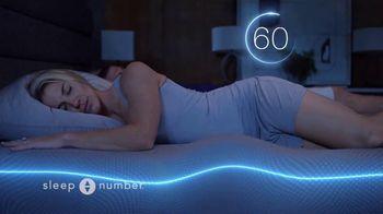 Sleep Number TV Spot, 'Sleep Smarter and Play Better: $1,099' Featuring Zach and Julie Ertz - Thumbnail 9
