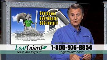 Englert LeafGuard TV Spot, 'Clogged Gutters in the Summertime: $99' - Thumbnail 8