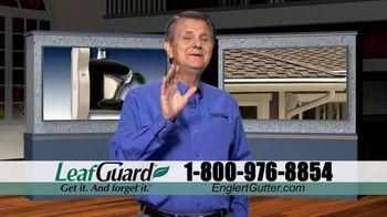 Englert LeafGuard TV Spot, 'Clogged Gutters in the Summertime: $99' - Thumbnail 1