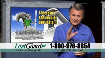 Englert LeafGuard TV Spot, 'Clogged Gutters in the Summertime: $99' - Thumbnail 5