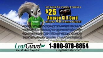 Englert LeafGuard TV Spot, 'Clogged Gutters in the Summertime: $99' - Thumbnail 6