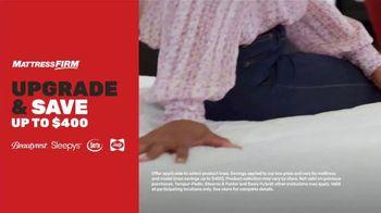 Mattress Firm TV Spot, 'Upgrade & Save: $400'